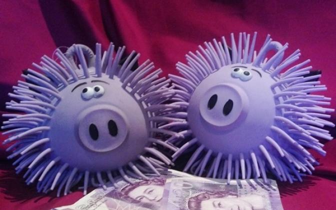 Smart-Pig Crazy rubber pigs