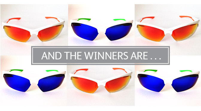 Look Whose Won These Awesome Shades!